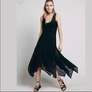 Intimately Free People Lila Maxi Lace Dress, XS